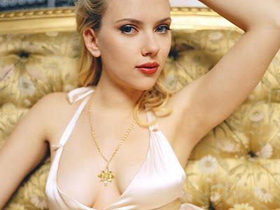Scarlett Johansson Photo Shoot Wallpaper