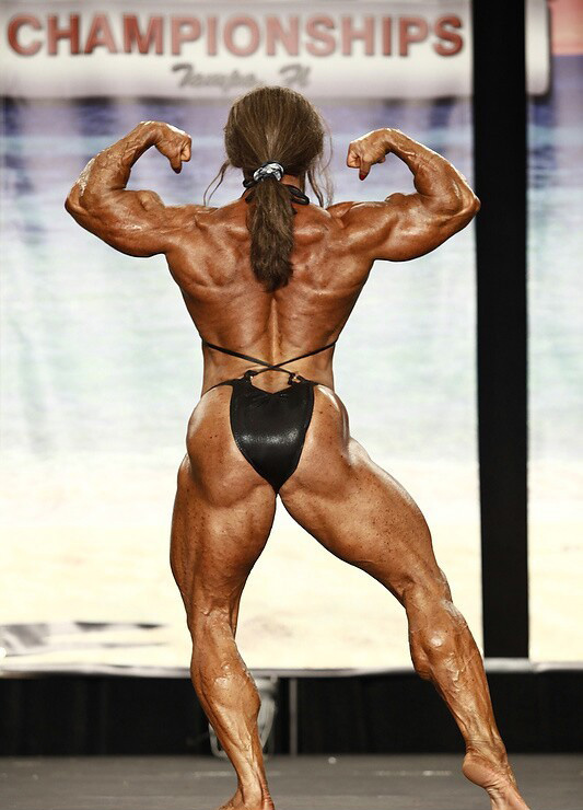 Colette Guimond Stage The Ifbb Tampa Pro