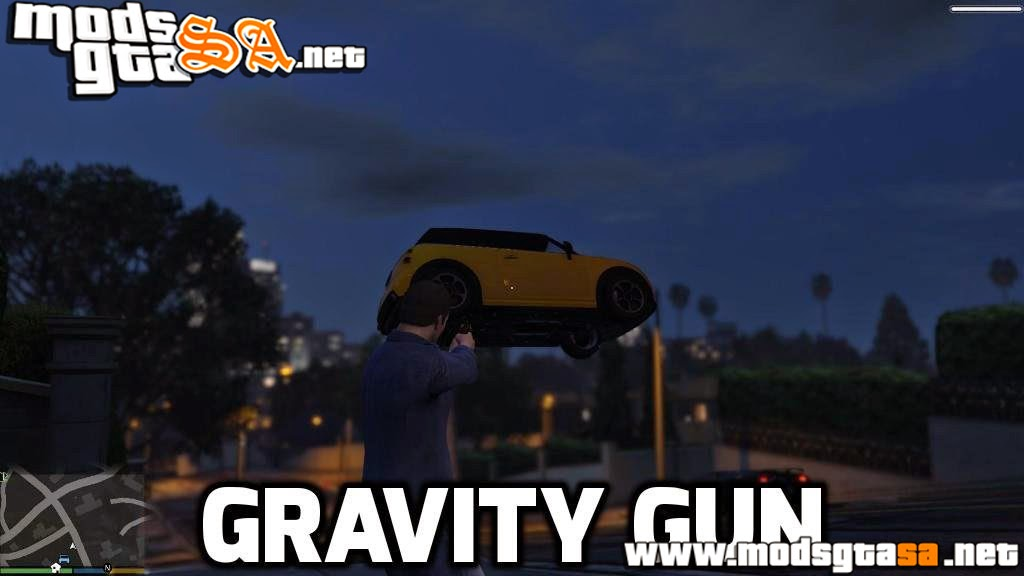 V - Gravity Gun (Arma de Gravidade) para GTA V PC