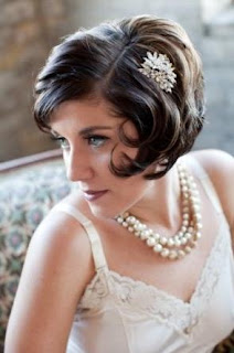 Bob Hairstyle for Short Hair for Weddings