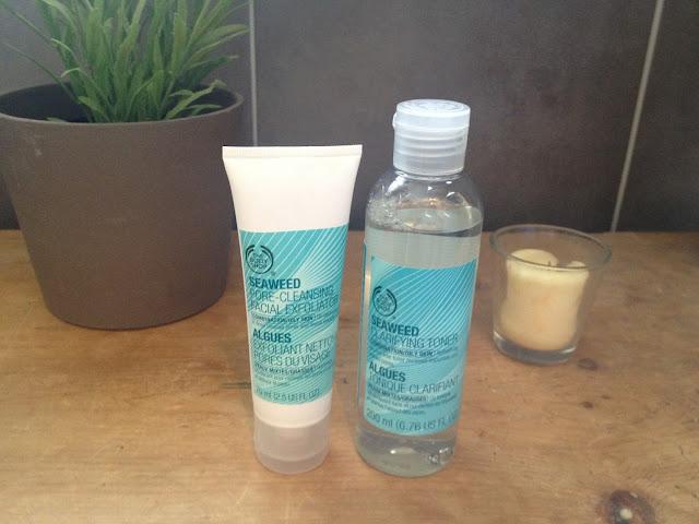 Body Shop Seaweed Skincare Range