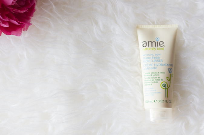 amie skincare morning dew matte finish moisturizer review