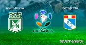 Atletico Nacional vs Sporting Cristal en Vivo - Copa Libertadores