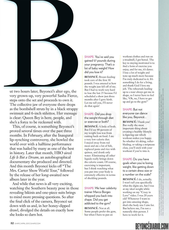 Shape magazine Avril 2013 3