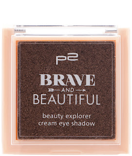 Preview: p2 Limited Edition: Brave and Beautiful - beauty explorer cream eye shadow - www.annitschkasblog.de