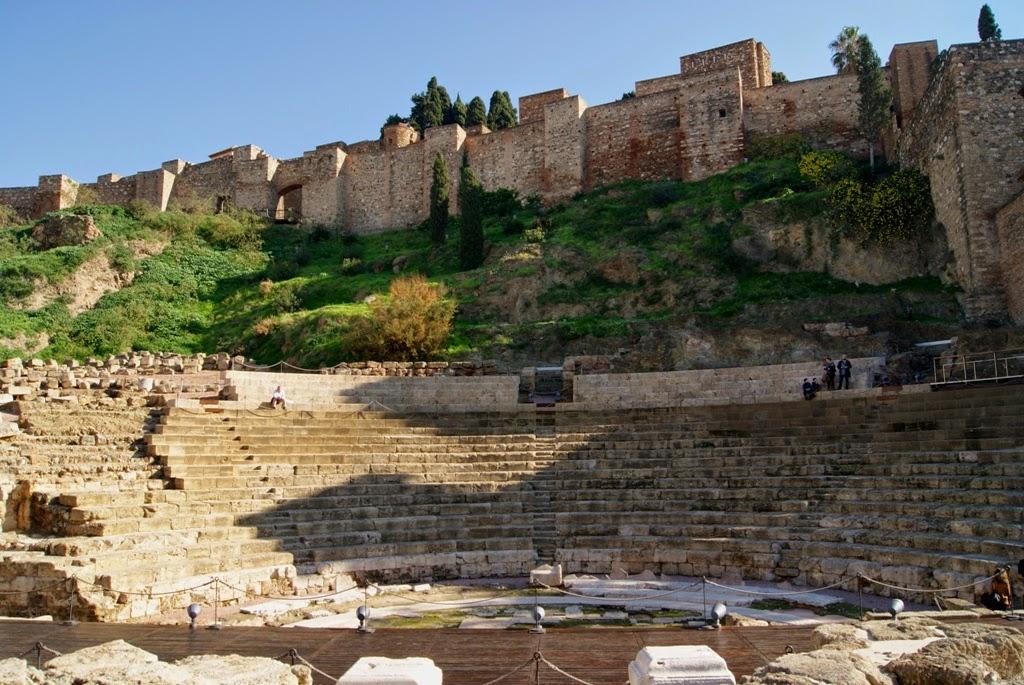 Malaga. Alcazaba y Teatro Romano