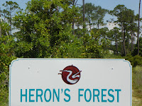 Herons Forest Subdivision sign