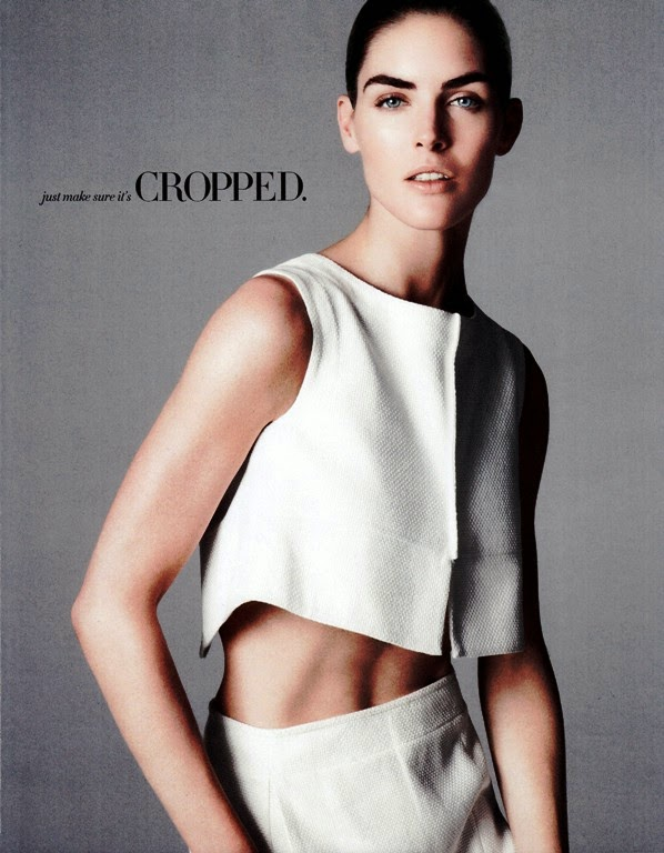 Hilary Rhoda HQ Pictures Harper's Bazaar US Magazine Photoshoot March 2014