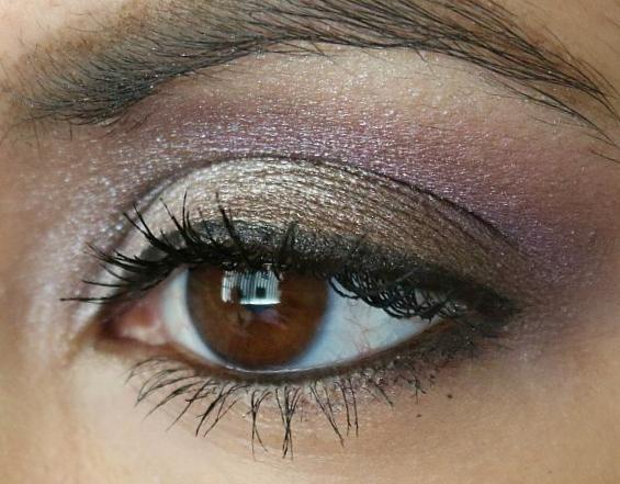 luminous eye look