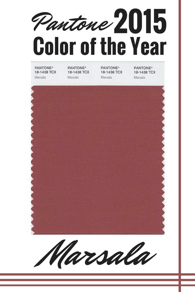Broke & Fabulous: Pantone Color of the Year: Marsala