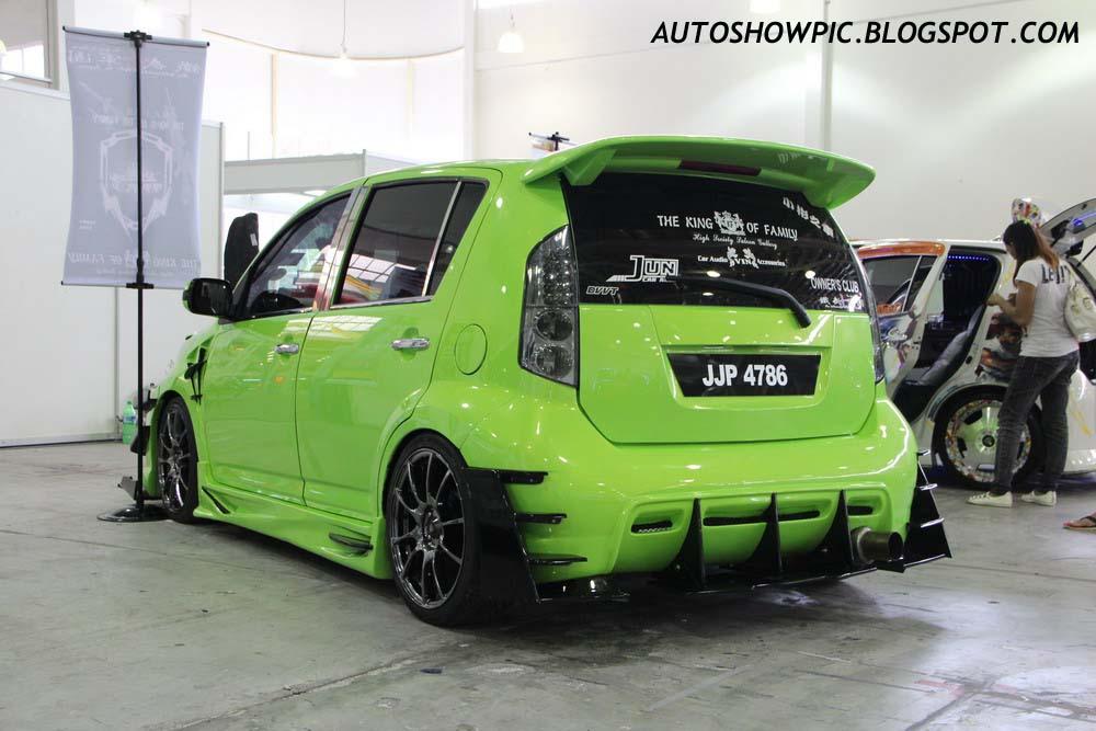 Perodua Myvi with Custom Bodykit