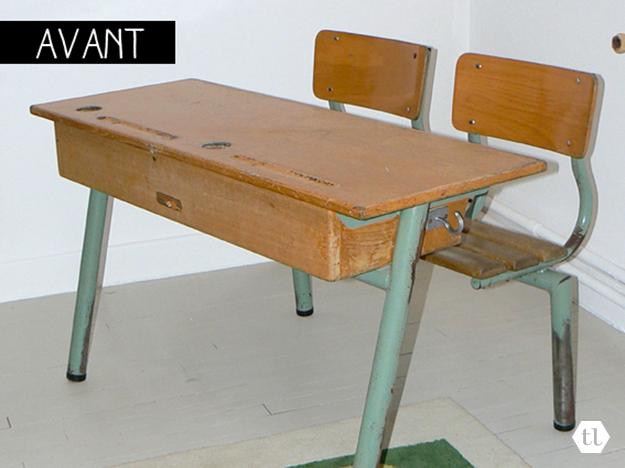 Le blog tanni lou bureau d 39 colier for Bureau d ecolier double