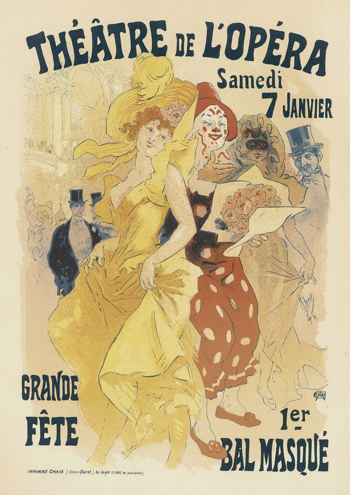Sisters Warehouse Poster Liberty Francesi French