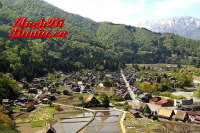 Inilah Desa Bersejarah Di Jepang
