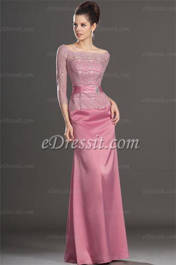 Фото вечернего короткого платья для мамы невесты
