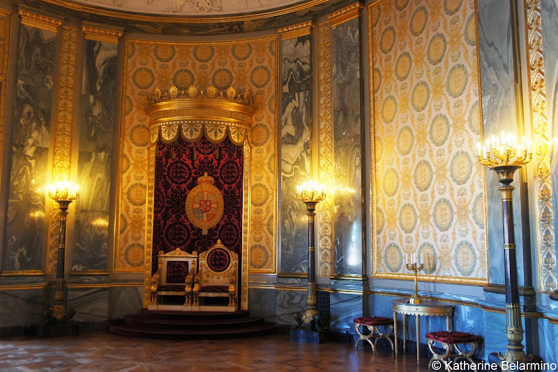 Christiansborg Palace Throne Room, Copenhagen, Denmark