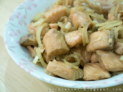 Simple salmon stir fry recipe