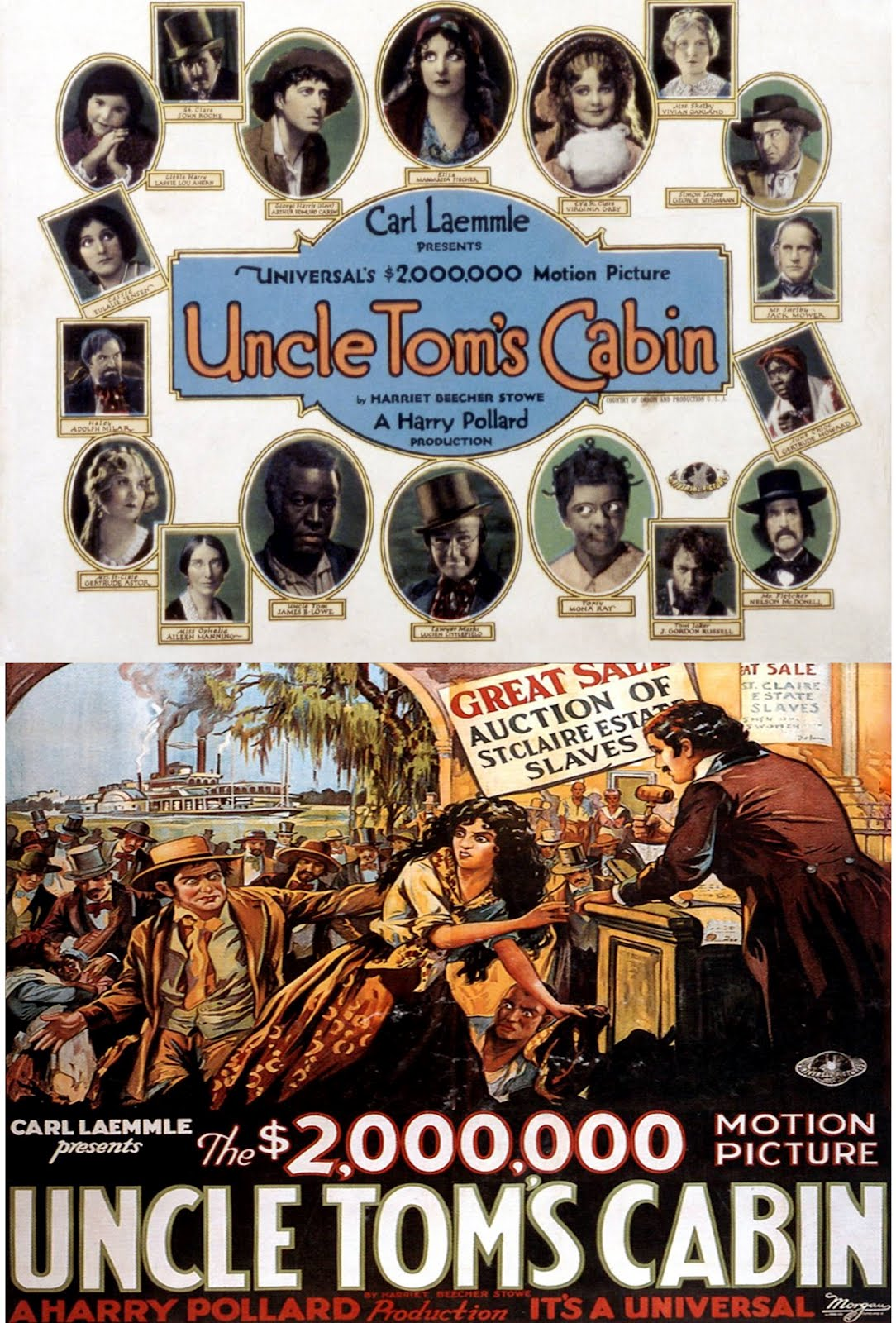 cinema classics on dvd uncle toms cabin 1927 james b