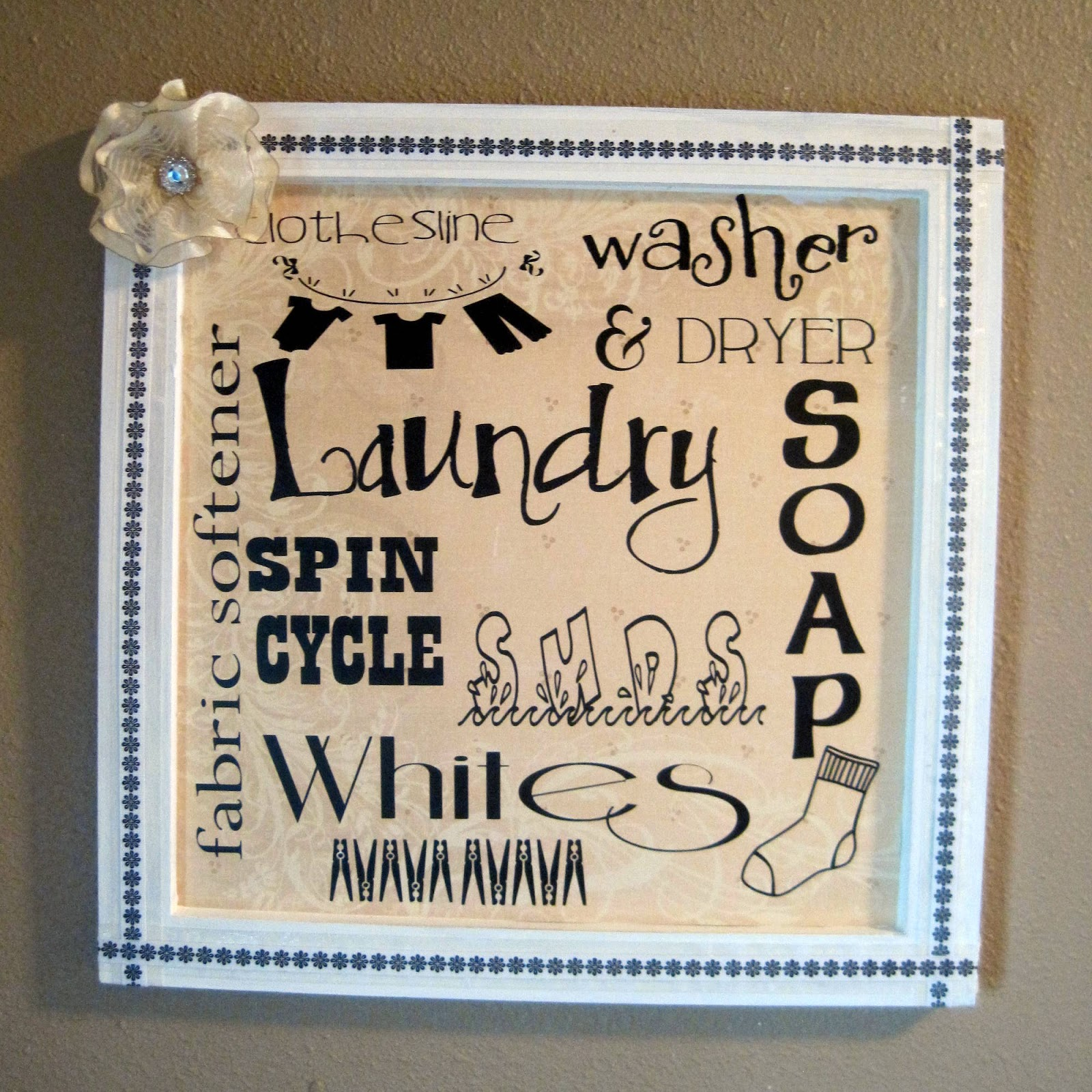 Laundry Room Wall Plaques Fair Laundry Room Etsy  Gustitosmios Design Inspiration
