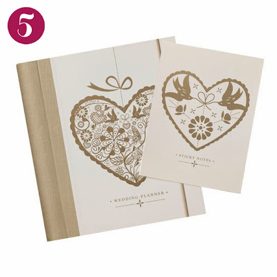 Henry and Flora Top Five Wedding Journals