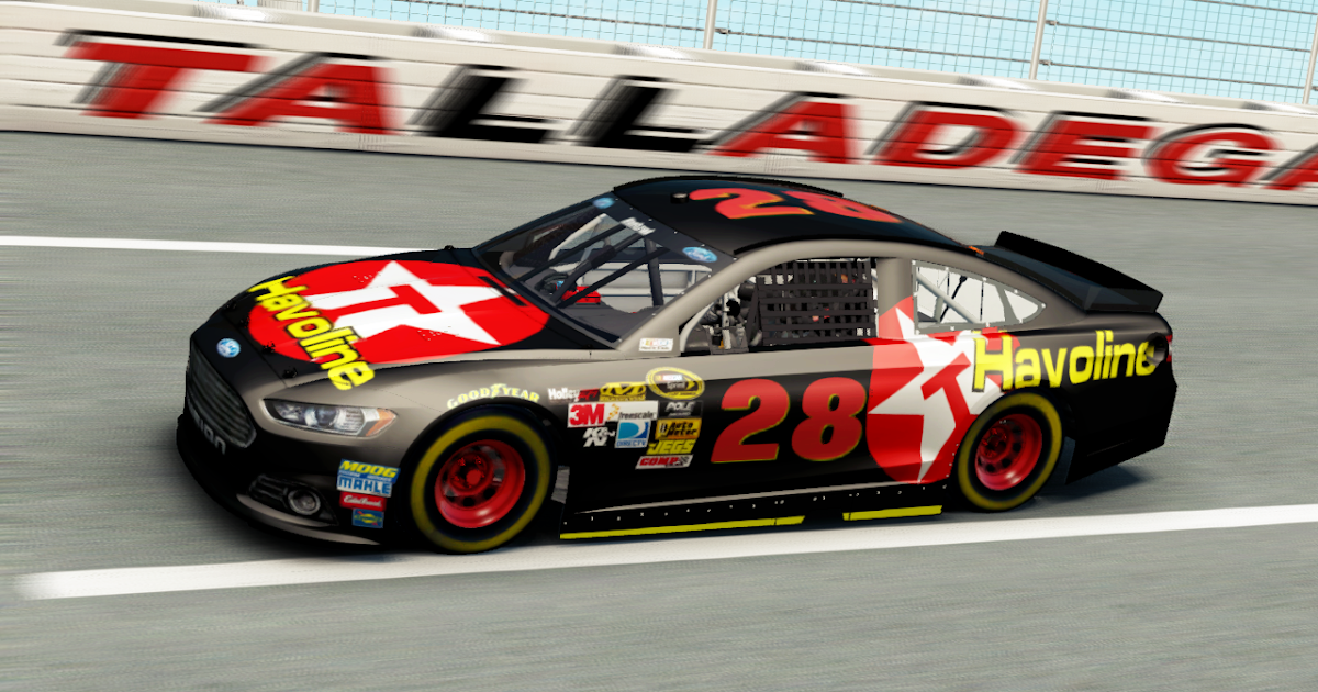 nascar the game nascar 39 15 texaco havoline 28 paint. Black Bedroom Furniture Sets. Home Design Ideas