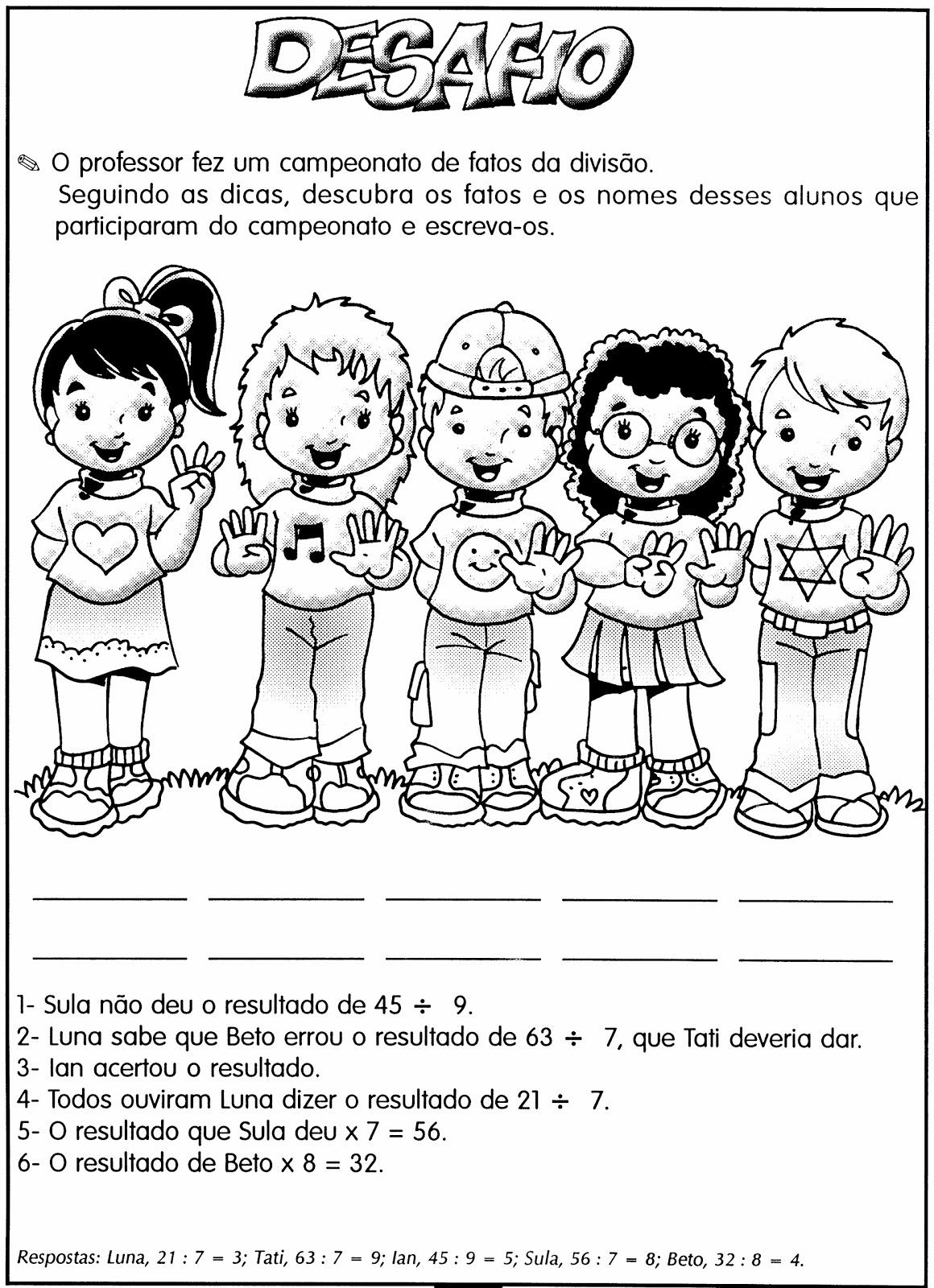 MODELOS DE ATIVIDADES DE MATEM  TICA PARA 4     5   E 6   ANOS