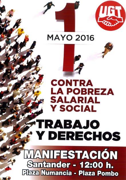 1º MAYO MANIFESTACIÓN 2016