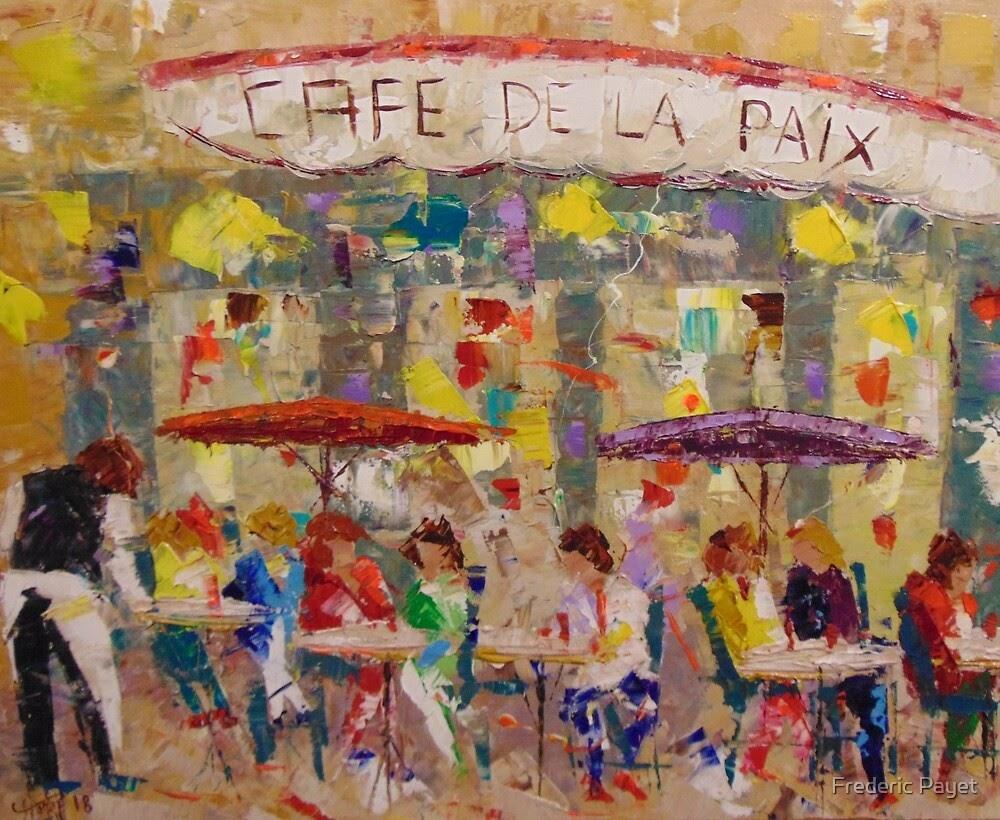 Frederic Payet Cafe de la Paix