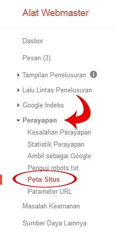 Update: Cara Submit Seluruh URL Blog ke Google Webmaster Tools Terbaru