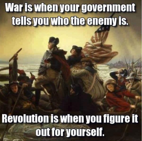 Revolution vs War