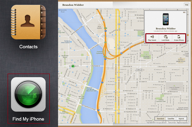 How to use Find My iPhone Application | nplhacker