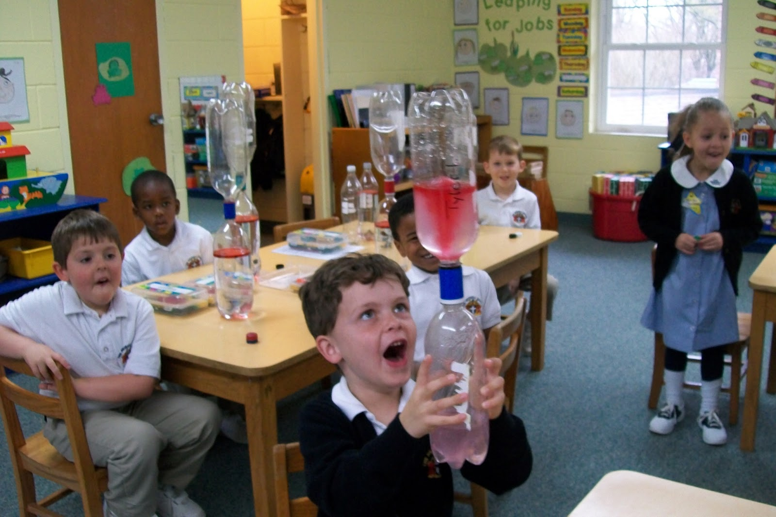 pre k science projects
