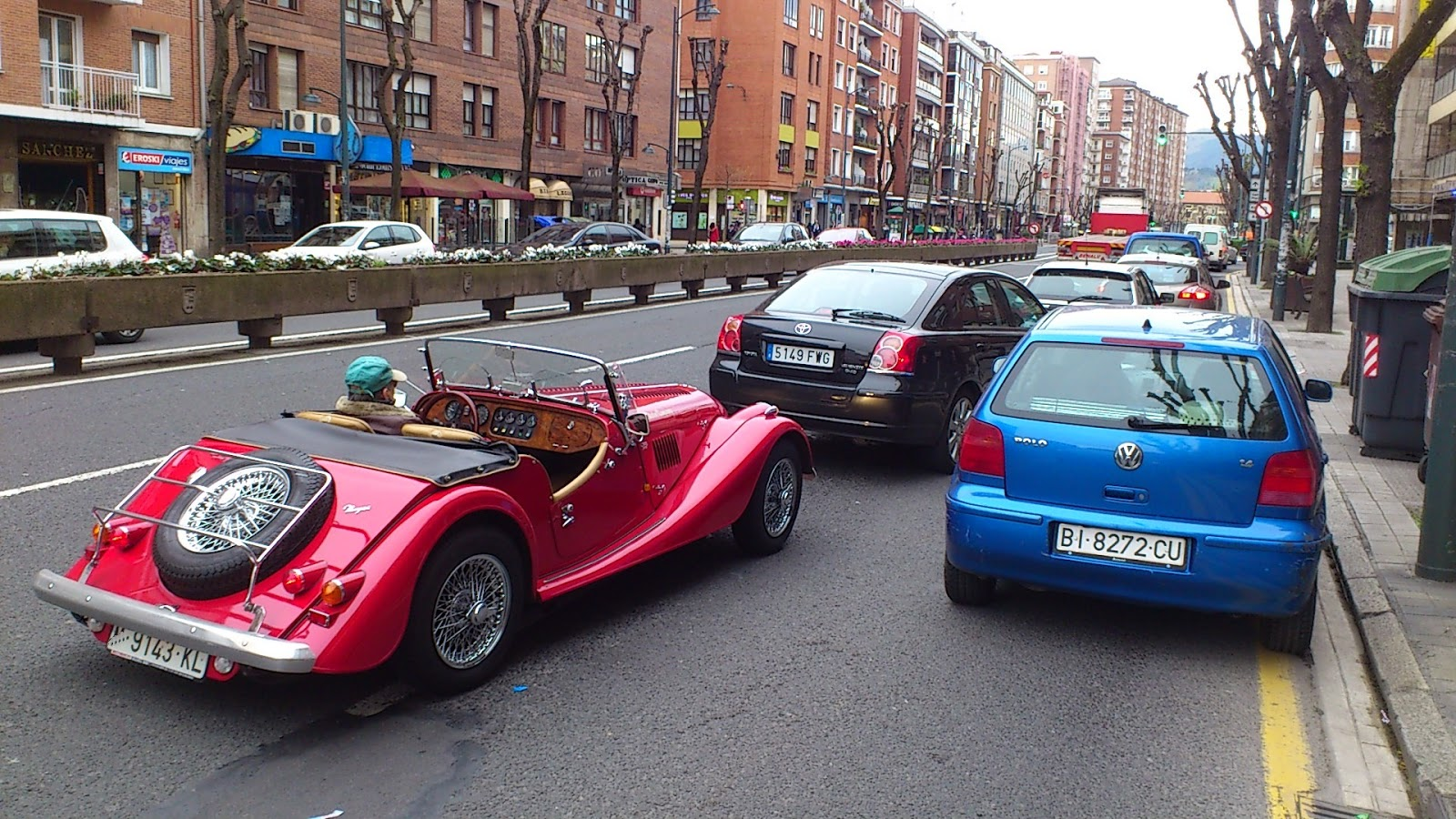 vehículos,coches de época,Bilbao