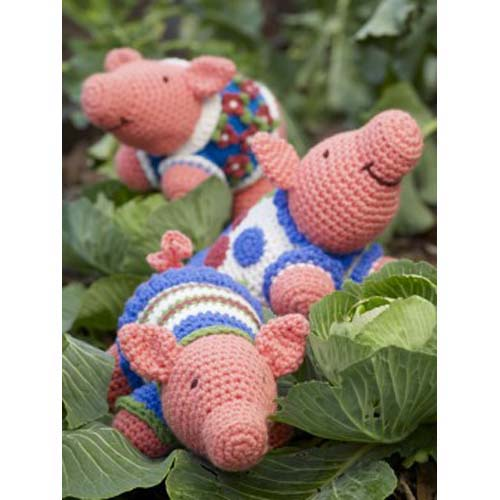 Amigurumi Pig Free Pattern : Miss Julias Patterns: Free Patterns - 65 Toys to Knit ...