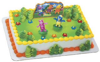 Amazing Backyardigans Birthday Cake