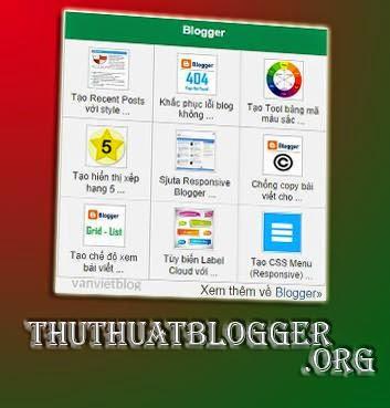 Bài viết phỏ biến 3 cột có thumbnail cho Blogspot