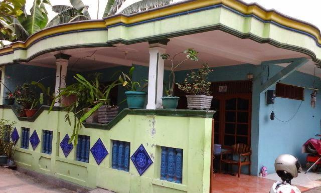 Rumah Dijual di Bekasi Bebas Banjir Strategis Tampak Depan