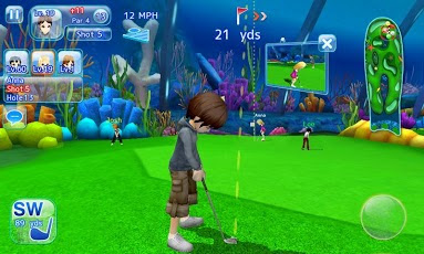 screenshot Let's Golf! 3 , The best android golf apps 3