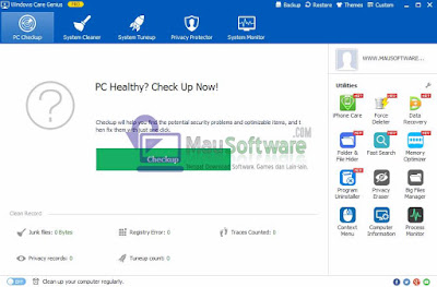 Windows Care Genius Pro Latest Version, software utilities