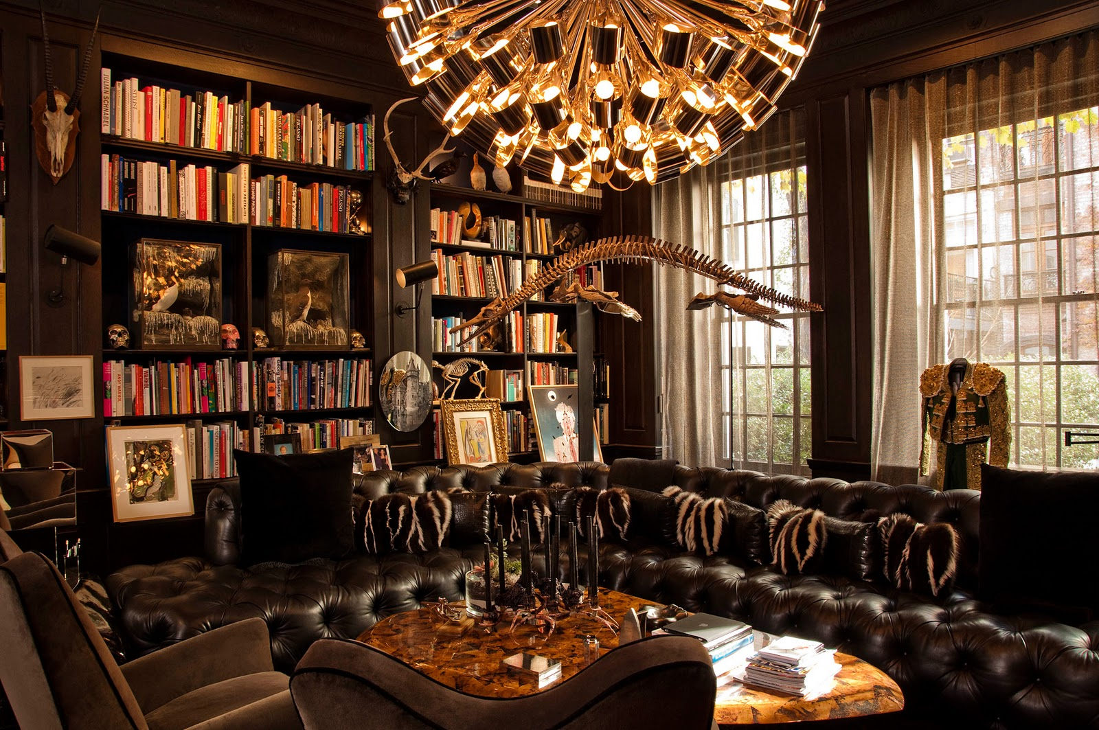 Home Library Interior Design