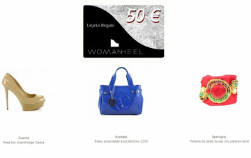 SORTEO TARJETA REGALO DE 50 WOMANHEEL