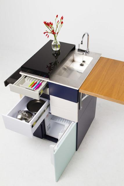 Cocinas compactas, para espacios mini