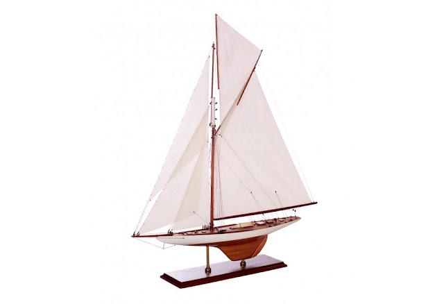 1899 America's Cup Columbia Exact Model Replica