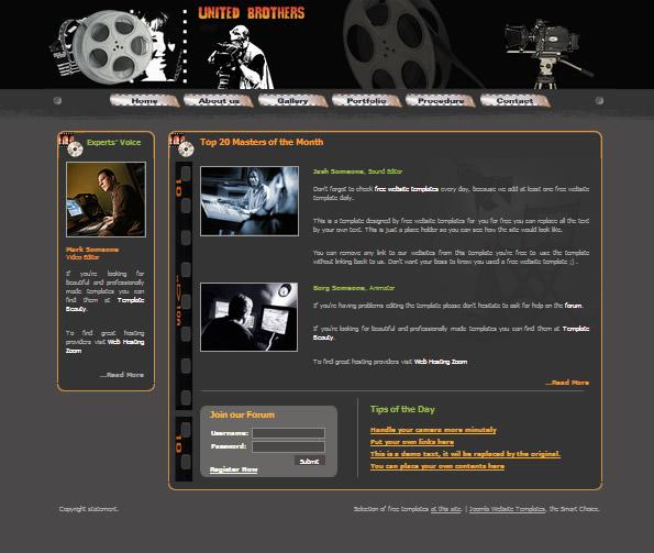 Ecommerce Site Name : Movie Company