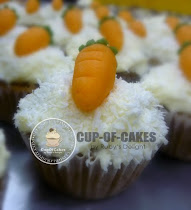 Carrot Walnut Cupcakes with Cream Cheese