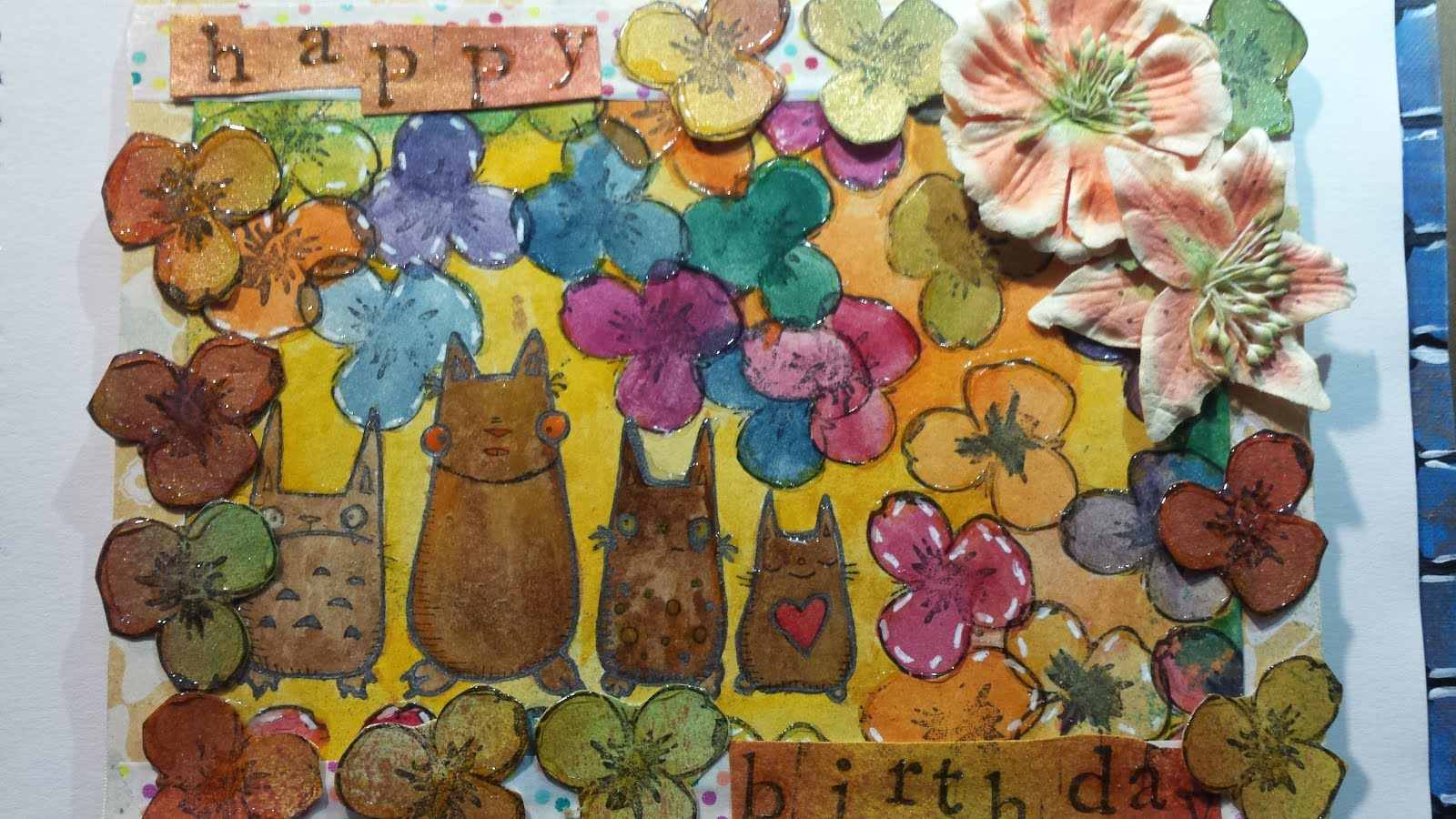 Stampotique Challenge Flowers