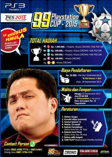 PES 2013 Tournament di Jogja September 2015