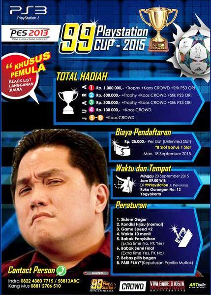 PES 2013 Tournament di Jogja September 2015