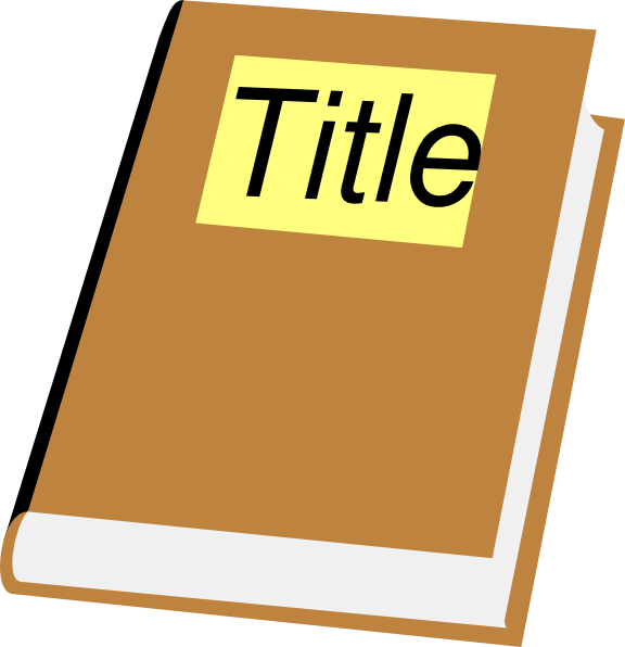 title of book in essay
