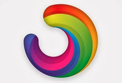 Colorful Logo Style Icon in Illustrator